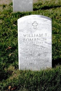 William T Boman, JR