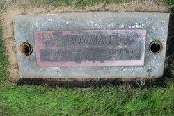 Alf William Bowman