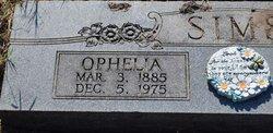 Emma Ophelia <I>Laha</I> Sims
