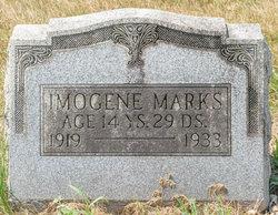 Imogene Grace Marks (1919-1933) - Find A Grave Memorial