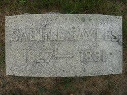 Sabin Lorenzo Sayles