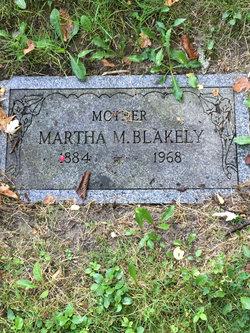 Martha M <I>Wimfrey</I> Blakely
