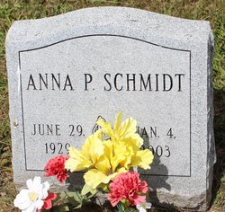 Anna P <I>Reihart</I> Schmidt