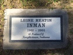 Leone A <I>Heaton</I> Inman
