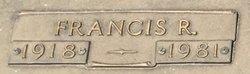 "Francis Rufus ""Frank"" Kimel"