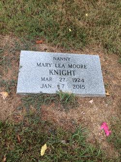 Mary Lea <I>Moore</I> Knight