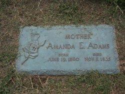 Amanda Elizabeth <I>Lence</I> Adams