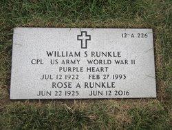 William S Runkle
