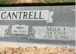 Nellie F. <I>Simons</I> Cantrell