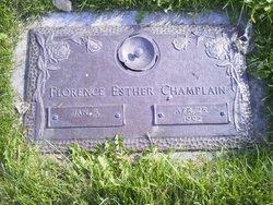Florence Esther <I>Montgomery</I> Champlain