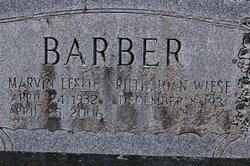 Marvin Leslie Barber