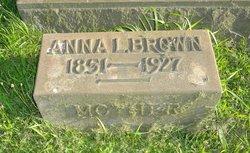 Anna M <I>Loomis</I> Brown