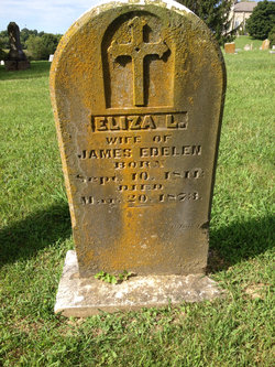 """Elizabeth L """"Eliza"""" <I>Riney</I> Edelen"""