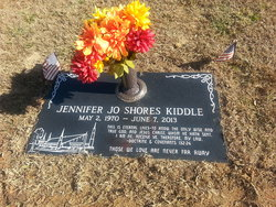 Jennifer Jo <I>Shores</I> Kiddle