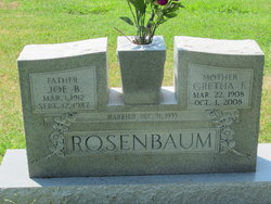 "Joseph Beyum ""Joe"" Rosenbaum"