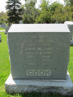 Alice Jean <I>Argue</I> Cook