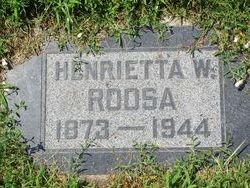 Henrietta <I>Werner</I> Roosa