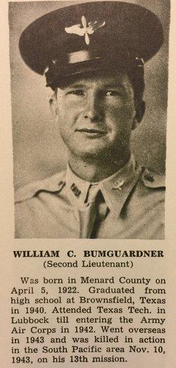 2LT William Calvin Bumguardner Jr.