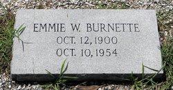 Emmie Eola <I>Workman</I> Burnette