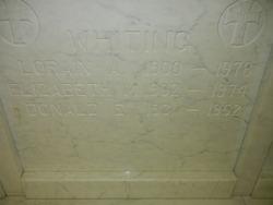 Lorain Albert Whiting