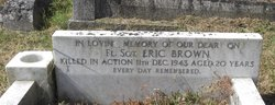 Sgt Eric Wilfred Brown