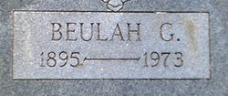 Beulah Gertrude <I>Anderson</I> Thompson