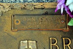 "John Calvin ""Red"" Bridges"