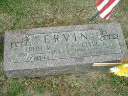 Edith M <I>McKinley</I> Ervin