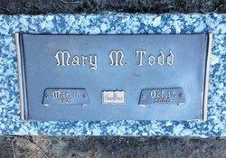 Mary Magdalene <I>Gore</I> Todd