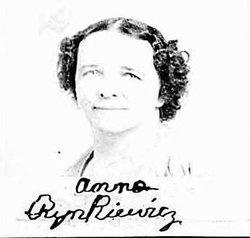 Anna M <I>Nowikzkaya</I> Rynkiewicz