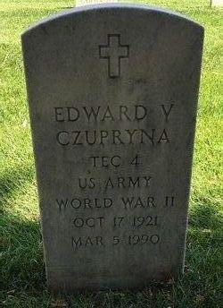 Edward V Czupryna