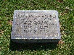 Mary <I>Avera</I> Wynne