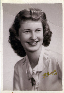Wilma Irene <I>Oestrick</I> Williams