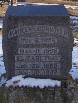 Elizabeth Cordelia <I>Clark</I> Bonifield