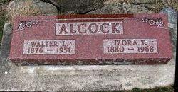Izora A <I>Taylor</I> Alcock