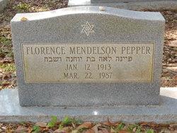 Florence Louise <I>Mendelson</I> Pepper