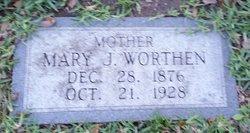 Mary Juliet <I>Stanton</I> Worthen