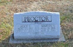 Rev Marvin Stanley Proctor