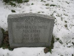 Barbara Jane <I>Caldwell</I> Blackburn