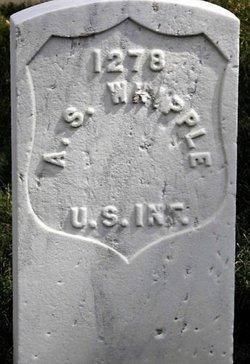 Pvt Alexander S. Whipple