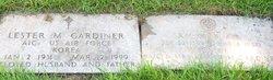 Lester M Gardiner