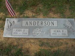 Alma Ruth <I>Brown</I> Anderson
