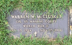 Warren William McCluskey