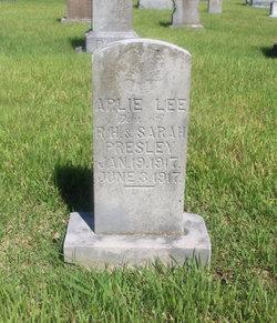 Arlie Lee Presley