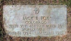 Jack Earl Fox