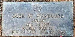 PFC Jack Walton Sparkman