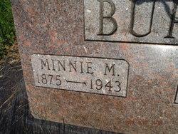 Minnie Mabel <I>Taylor</I> Burr