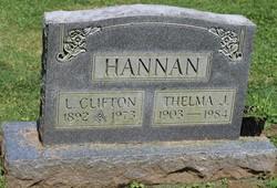 Thelma E. <I>Jarrell</I> Hannan