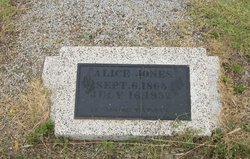 "Georgia Alice Mae ""Alice"" <I>Kingery</I> Jones"