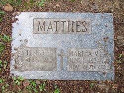 Martha M <I>Ryterski</I> Matthes